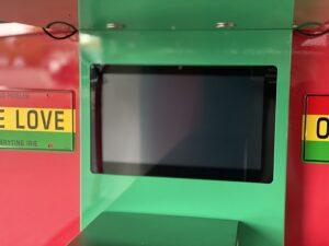 LCD scherm of beelscherm in voorkoof